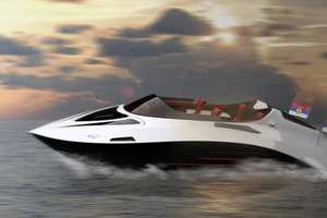 Darko Markovic's 'The Eagle Yacht' Features Solar Panels & Jet Propulsion