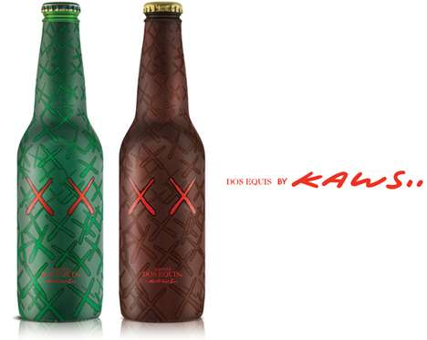 Dos Equis and Kaws