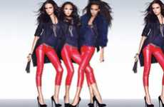 Hot Pepper Leggings - The Pinko Fall/Winter 2010-2011 Collection is Turning Up the Heat