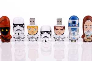 These 'Star Wars' MIMOBOT USBs Bring Out Your Inner Geek