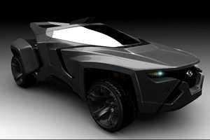 The WildWave is a Heavy Duty Futuristic Vehicle