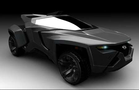Dynamic Land Cruisers - The WildWave is a Heavy Duty Futuristic Vehicle
