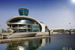 The 'Yas Island Yacht Club' by Omiros One Architecture is Ultra Glamorous