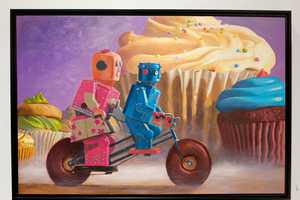 The Paintings by Artist Eric Joyners Are Pleny of Fun