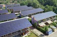 Power-Generating Complexes - The Sonnenschiff Solar City By Rolf Disc is Super Eco-Friendly