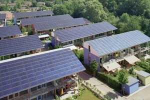 The Sonnenschiff Solar City By Rolf Disc is Super Eco-Friendly