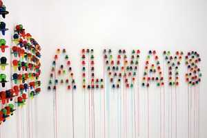 Julia Chiang Creates a Message Out of Candy