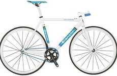 Lightweight Two-Wheelers - These Bianchi 2011 Pista Fixed Gear Bicycles are Ultra Aerodynamic