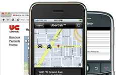 Texting Cabby Apps - Uber Cab Lets You Order a Chauffeured Car Straight from Your Cell Phone