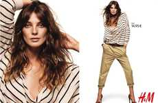 Desert-Colored Attire - The H&M Fall Campaign Stars Daria Werbowy