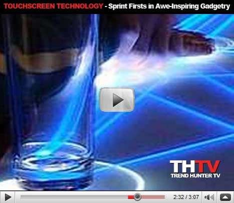 Rad Touchscreen Technology - Sprint Firsts in Awe-Inspiring Gadgetry