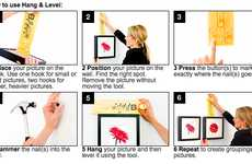 Easy Art Hanging Devices