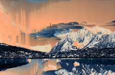 Pixelated Landscape Photography
