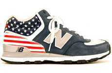 Flag-Waving Street Shoes - The New Balance H574J Kicks Are for True Patriots