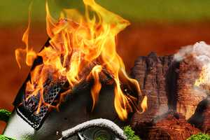 The Adidas Originals Ads Feature Infamous Athletic Shoes on Fire