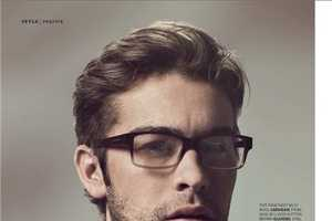Esquire UK August 2010 Features a Nerdy Chase Crawford