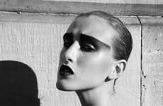 Extreme Eyebrows - The Marco van Rijt U Mag 'Love Divine' Editorial