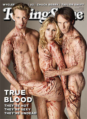 Bloody Magazine Covers