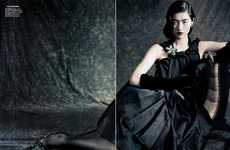 The Liu Wen Vogue China September 2010 Editorial is Glamorous