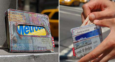 Trashy Money Holders - The Holstee Wallets are Made from Delhi Street Trash