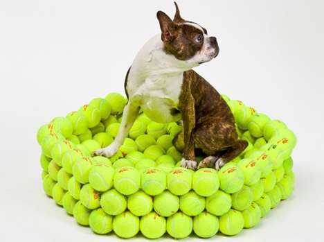 Hex Tennis Dog Bed