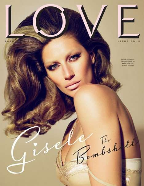 Gisele and Lauren LOVE Magazine Covers