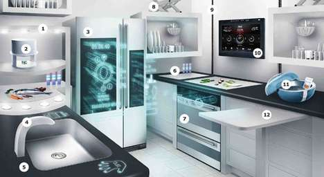Futuristic Kitchenettes - The IKEA 2040 Kitchen Equipment Features Plenty of High-Tech Appliances