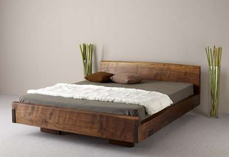 Wooden Zen Beds - Ign. Design Makes a Calm and Peaceful Sleeping Place