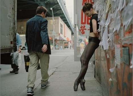 "Sidewalk Dancer Photography - Dane Shitagi's ""Ballerina Project' is Simply Beautiful"