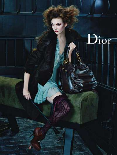 Karlie Kloss Dior Fall Winter 2010 Campaign