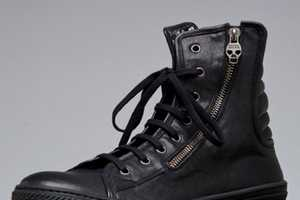 These Alexander McQueen High Top Sneakers Help to Keep the Legacy Alive
