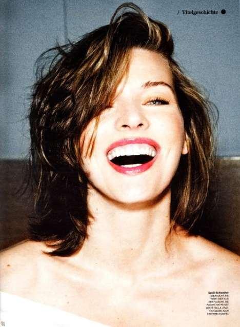 Milla Jovovich GQ Germany