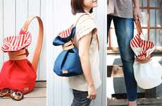 Curiously-Cinched Satchels