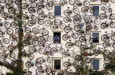 Bike-Covered Walls