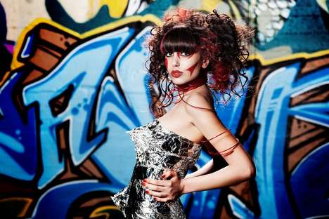 Street Art Photo Shoots - 'Graffiti' 2010 by Hair Academy Stephan and New Approach