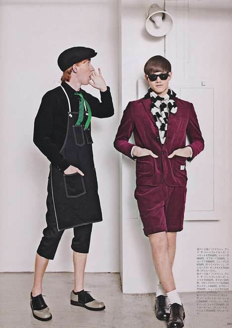 Living in TOKYO Editorial POPEYE Fall/Winter 2010