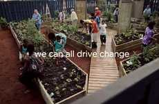 Social Activist Automobiles - The Kia Drive Change Garden is Giving Back to the Community