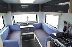Five-Star Caravans - The Stealth Defiant is Your Mobile Home Away from Home