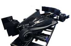 Full-Scale Simulators - The BRD 06 Car Simulator Replicates the F1 Experience