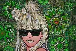 Jason Mecier's New 3D Celebrity 'Trashy' Art Uses Donated Garb