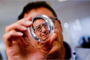 Trufocal Glasses' Nosepiece Slider Adjusts Focus