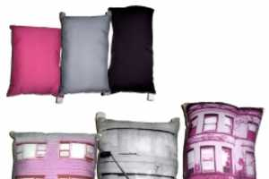 Bring the Streets to Your Room with 'Build Your Own Block' Collectible Pillows