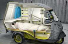 Trailer Trikes - The Buffalino Is A Fully Furnished Three-Wheeler