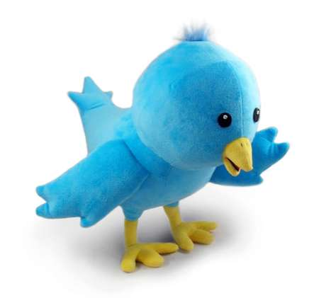 Stuffed Plush Twitter Bird
