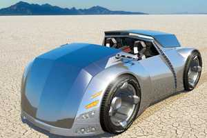 Automotive Concept Is Very Different From Any Conventional Car