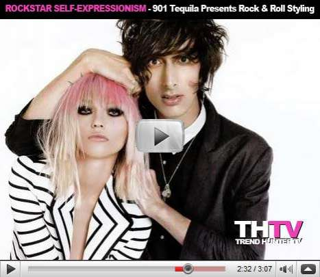 Rockstar Self-Expressionism - 901 Tequila Presents Rock and Roll Styling