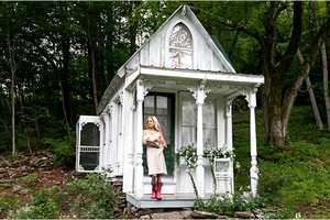 Sandra Foster Transforms an Old Home into Something Romantic