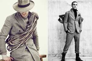 The LBM Fall/Winter 2010-2011 Spread Features a Rugged Man's Style