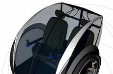Urbanized Transport Pods - 'Electric Rickshaw' is an Ideal Urban Two-Wheeler