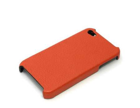 Goat Skin Leather iPhone 4 Case